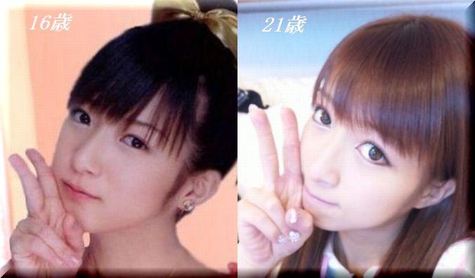 辻希美の顔の変化を改めてまとめてみたwww