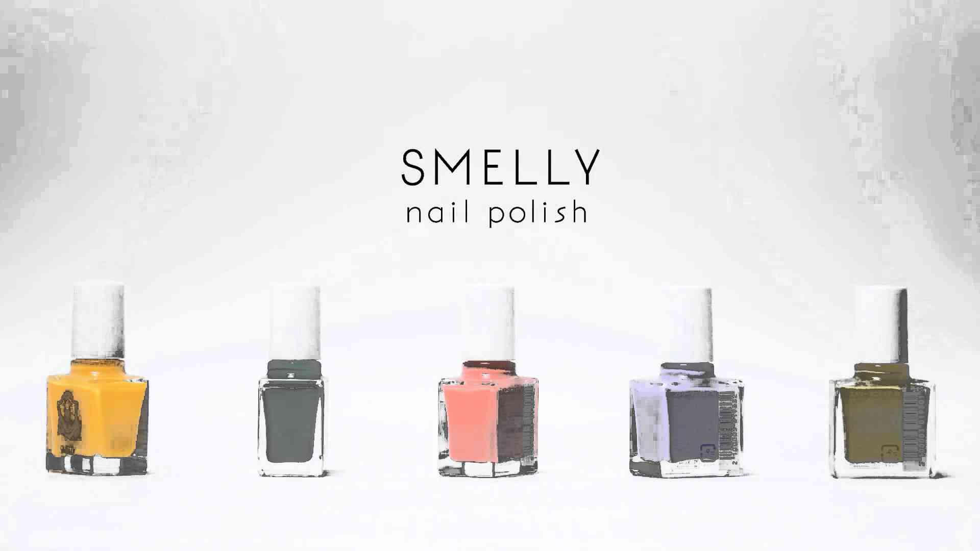 SMELLY nail polish - YouTube