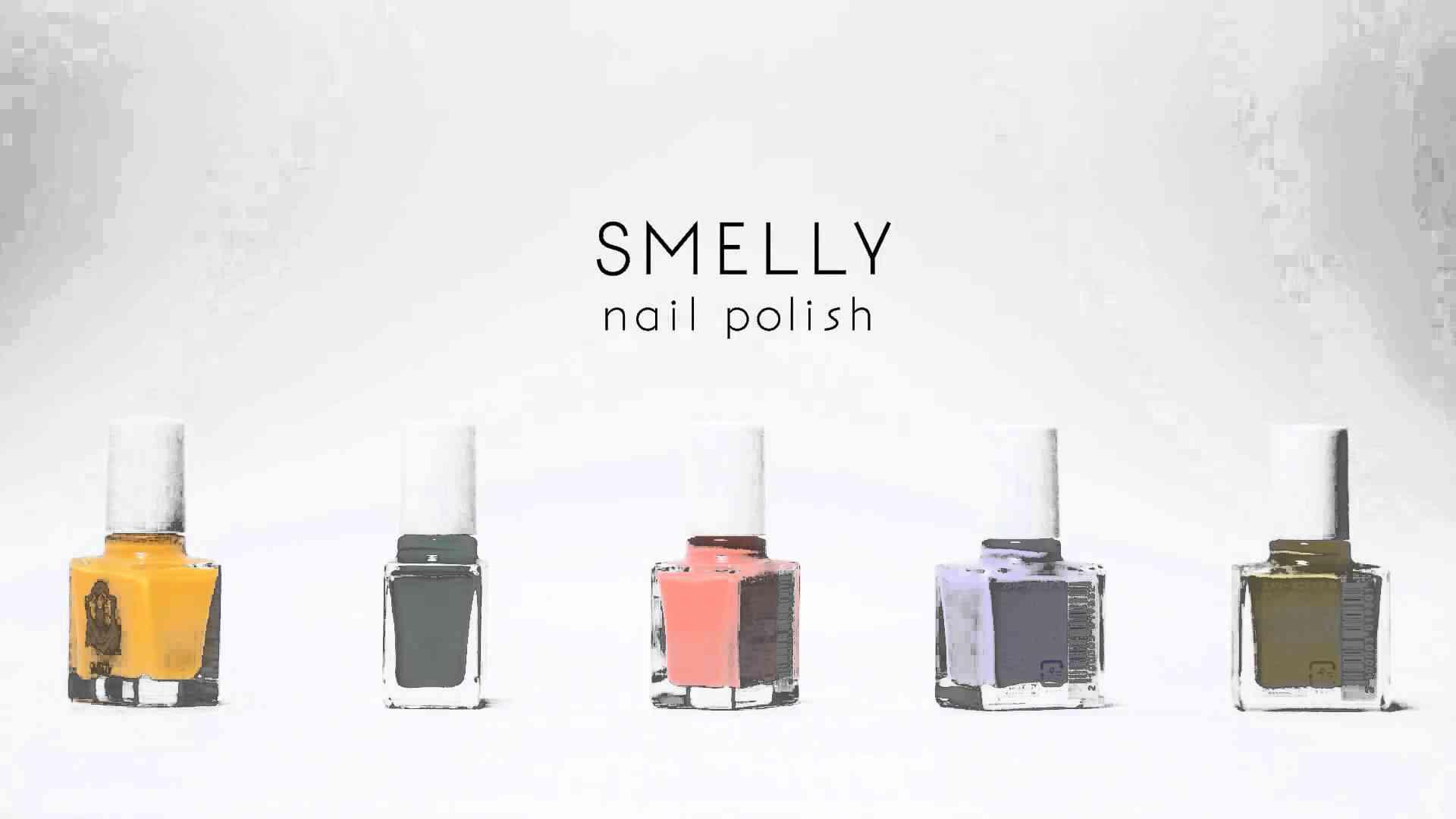 SMELLY nail polish - YouTube