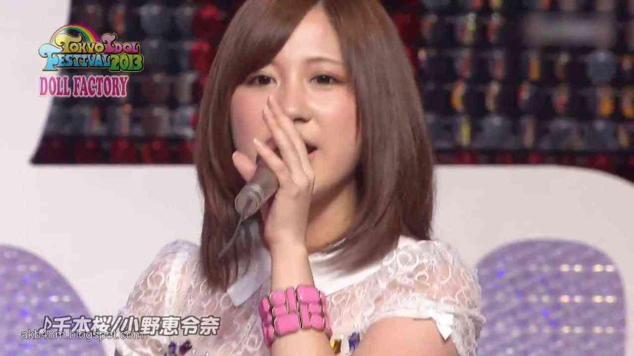 [HD] 小野恵令奈 - 千本桜 (LIVE) / Ono Erena AKB48 / Senbonzakura / Thousand Cherry blossom [2013.07] - YouTube