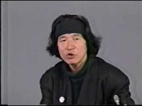 内田裕也政見放送「完全版」 - YouTube