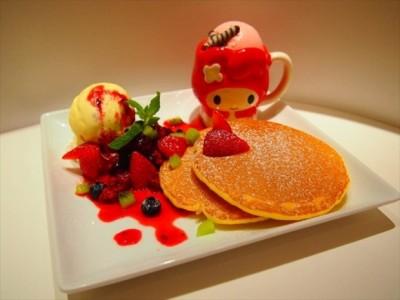可愛いパンケーキも!マイメロディの期間限定ショップ&カフェが登場