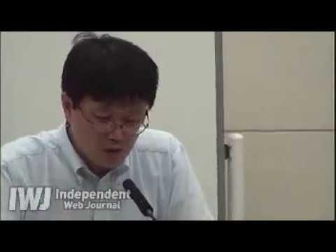 20130722 日本テレビ記者呆れ果て若干キレぎみの件 東電記者会見 - YouTube