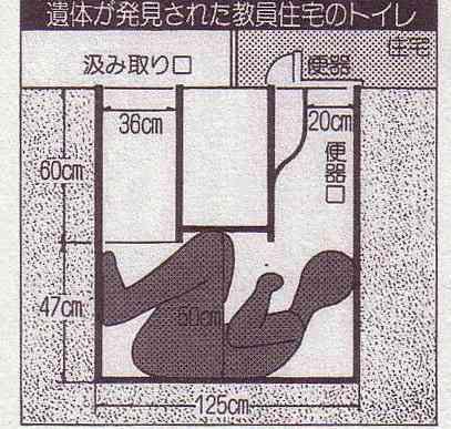 女子トイレの便器の中に入り、上を見上げていた男逮捕