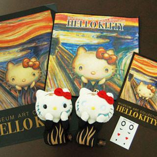 ハローキティ×ムンクの「叫び」、絵画とコラボするアート雑貨シリーズ発売 | クリエイティブ | マイナビニュース