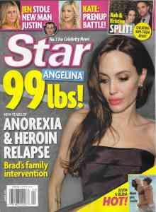 乳房切除のアンジェリーナ・ジョリーが激ヤセ…ブラッド・ピットが悲鳴