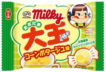 """ミルキーに「コーンポタージュ味」!62年間で初の""""スープ""""フレーバー"""