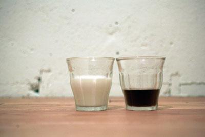 麦茶+牛乳+砂糖=コーヒー牛乳を試してみました - オレンヂ