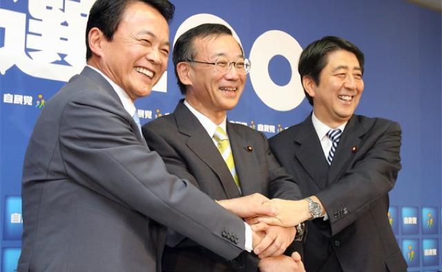 【会いに行ける政党】自民党がAKB48を手本にして握手会を開催www