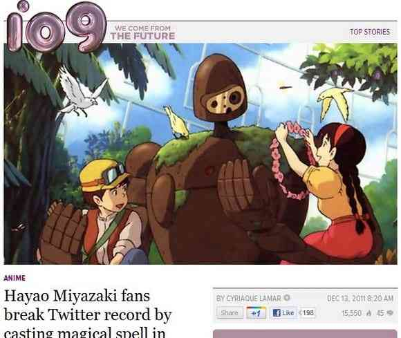 世界に広がる日本の「バルス」ニュース!そして分かりやすく影響される海外ユーザーたち「Balse!」 | ロケットニュース24