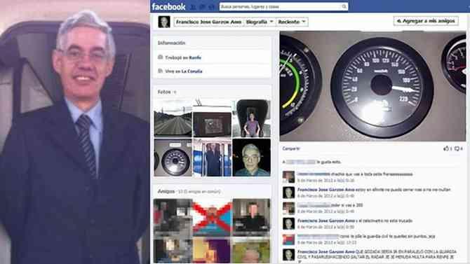 スペインの列車事故の運転手、facebookで速度自慢「200キロ出してやった!」