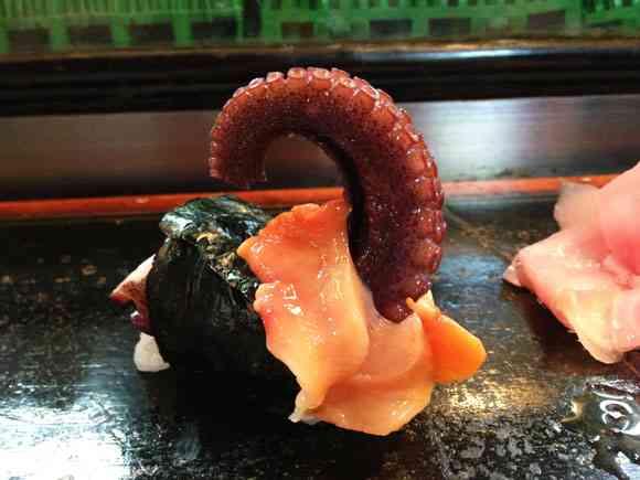 変な寿司屋があるというので行ってみた / セクハラ寿司! ソープランド寿司! アイス寿司!ライブドアほりえもん寿司 | ロケットニュース24