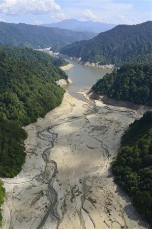殺人熱波のせいで首都圏が深刻な水不足!最悪の場合断水に踏み切る事態もあり得るかも…