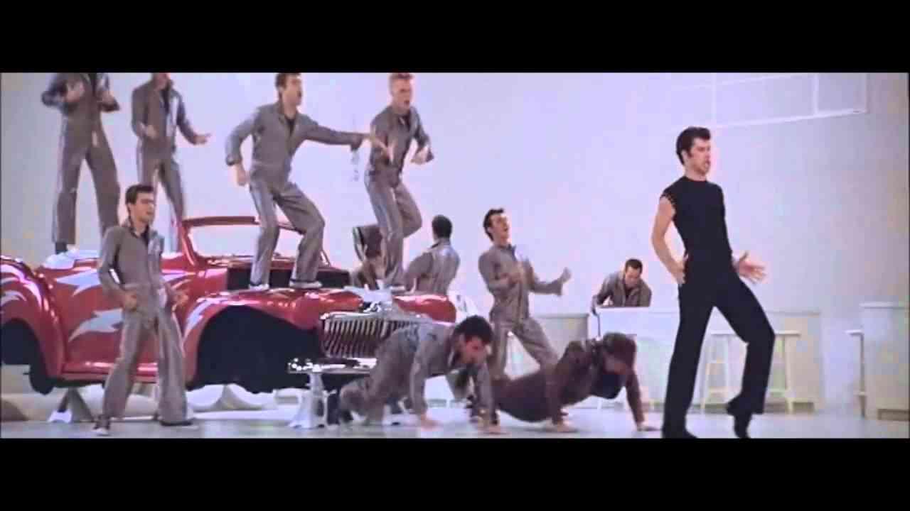 Grease  -  Greased Lightning  [ With Lyrics ] - YouTube