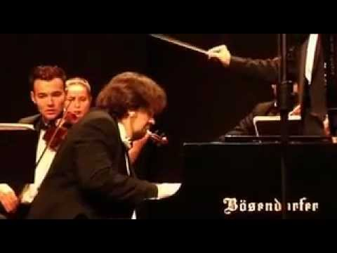 J. S. Bach Piano Concerto in D-Minor BVW 1052. Timur Sergeyenia, Misha Katz, Russian Soloists.mp4 - YouTube