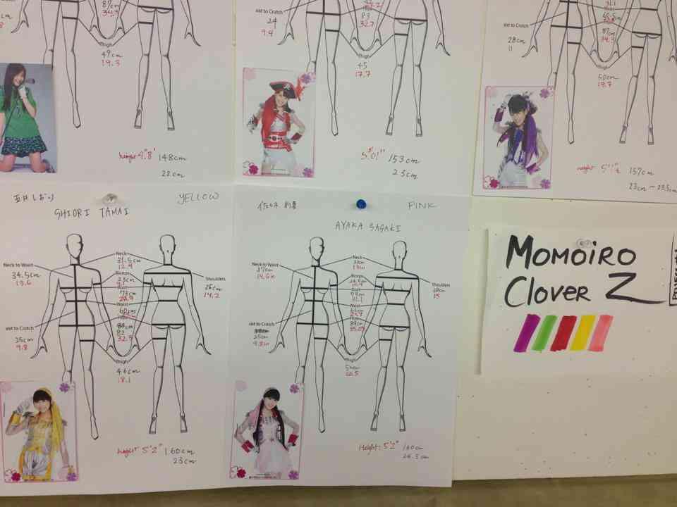 ももいろクローバーZに衣装をパクられたデザイナー、報復にメンバーのスリーサイズを暴露ww