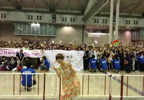 篠田麻里子のファンがスゴイ…