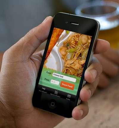 食べ残したご飯を見知らぬ隣人と共有できるiPhoneアプリ「LeftoverSwap」
