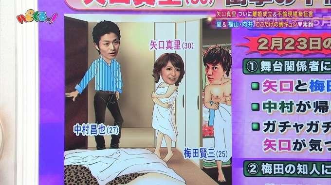 ナイナイ岡村隆史が矢口真里復帰プラン。寝室セットで不倫騒動のパロディーを!