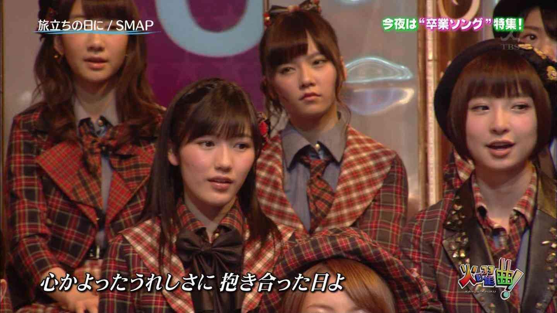 「火曜曲」のAKB48島崎遥香の顔wwww