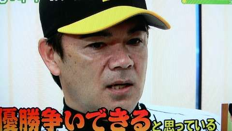 """「奈々!俺にもチュッは?(笑)」""""いぶし銀""""のはずが…星奈々に暴露された阪神・和田豊監督のメールにファン困惑"""
