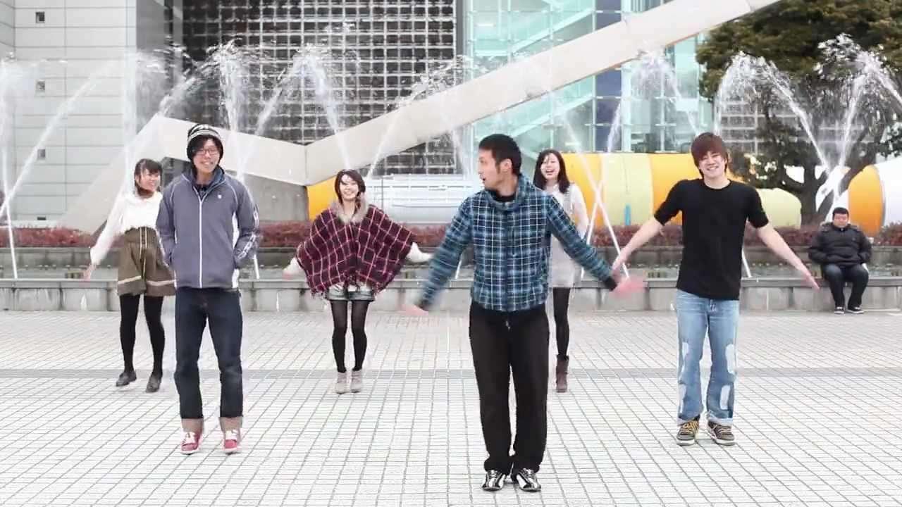 Happy Synthesizer その辺の人をかき集めてハッピーシンセサイザを踊ってみた - YouTube