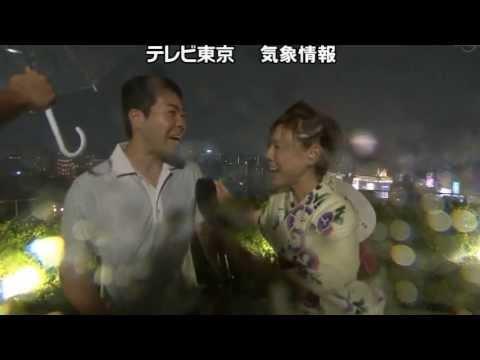 第36回 隅田川花火大会、中止のお知らせ 高橋真麻の根性中継あり - YouTube