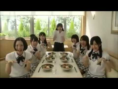 HKT48 夏ガスト CM 坦々麺編&グリルチキン編 - YouTube