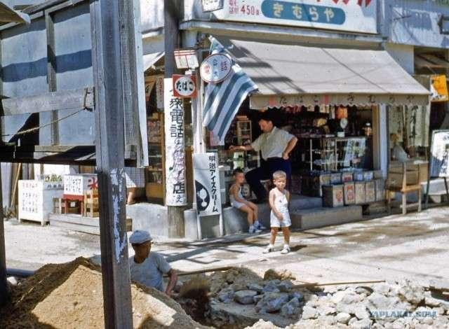 【貴重画像】ロシアのサイトに掲載された1950年代の日本