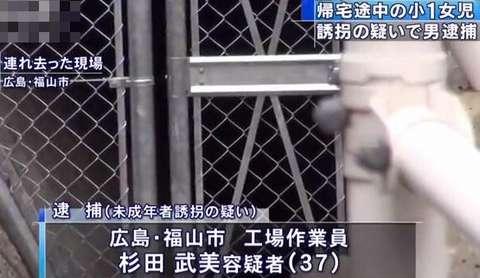 【誘拐】杉田武美容疑者を6歳女児誘拐容疑で逮捕!!! 情報商材裏サイト