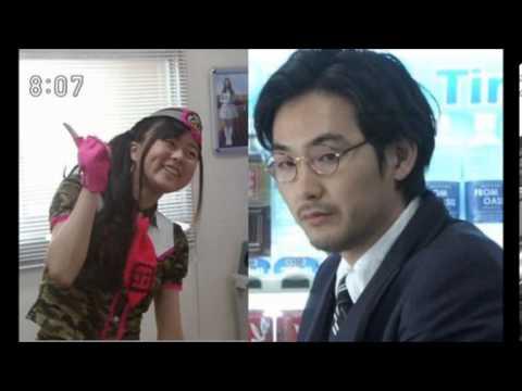 あまちゃん 成田りなの自己紹介&ミズタクのやる気のないコール - YouTube