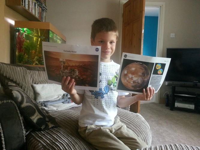 英国の7歳少年「どうしたら宇宙飛行士になれるのですか?」→ NASAが真剣な返事を送る