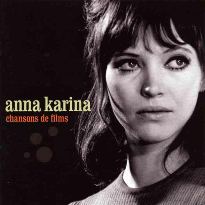 アンナ・カリーナ(Anna Karina)「chansons de films」(1960年〜)の画像:夜ごとの美女