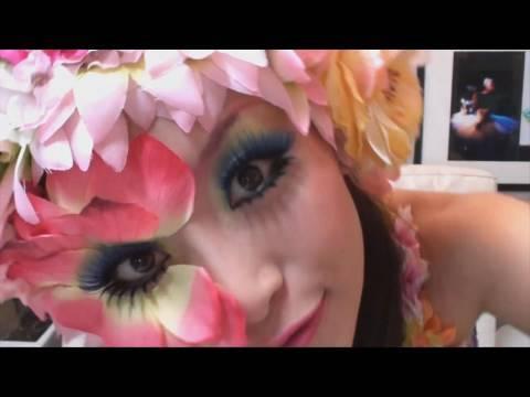 Makeup Flower Garden / 花畑メイク - YouTube