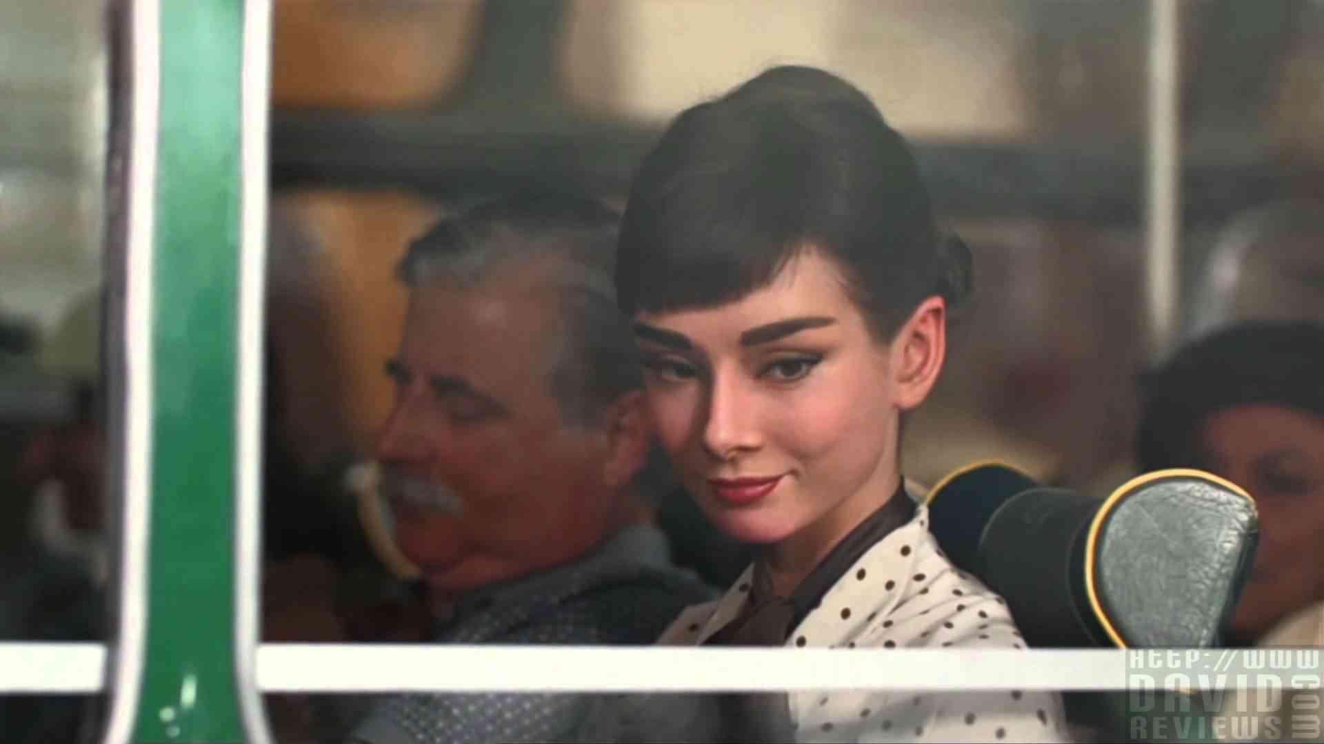 Galaxy - Audrey Hepburn - YouTube
