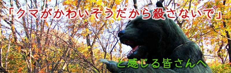 「クマがかわいそうだから殺さないで」と感じる皆さんへ - 紺色のひと
