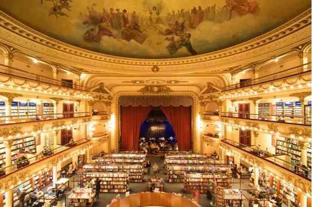 まるでハリーポッターの世界!?「世界で二番目に美しい書店」が美しすぎる!