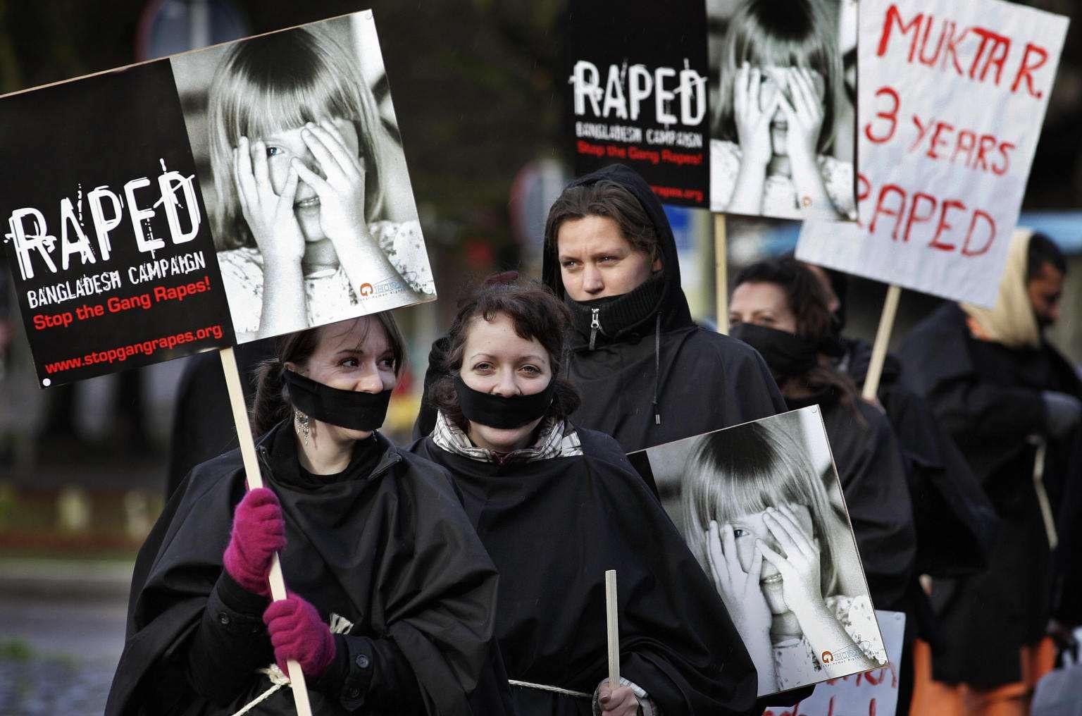 6割の男性がレイプ認める国も:6カ国の国連調査