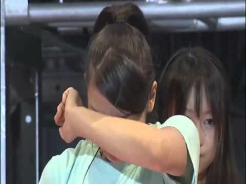 AKB48【絆よ永遠に】チームK 手紙朗読 河西智美から秋元才加へHD - YouTube