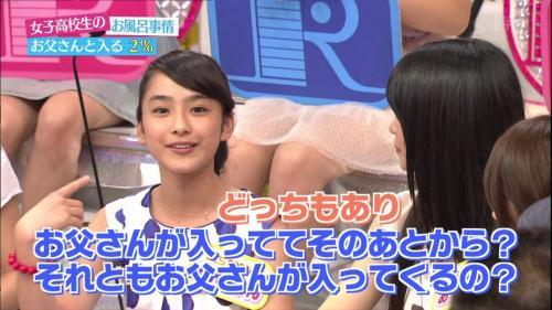 平愛梨(28)と平祐奈(14)が今も父親と一緒にお風呂に入っている件