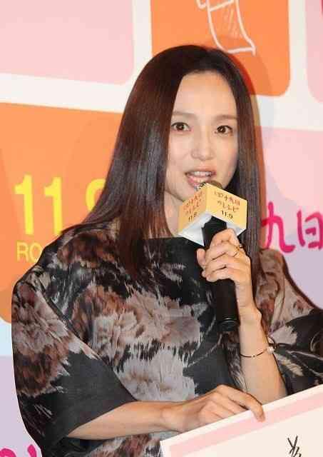 永作博美、第2子出産後初の公の場「無事に出産できました」とファンに報告 : 映画ニュース - 映画.com