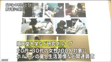 ビタミンD不足 卵子減少に影響か NHKニュース