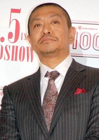 映画監督の松本人志。