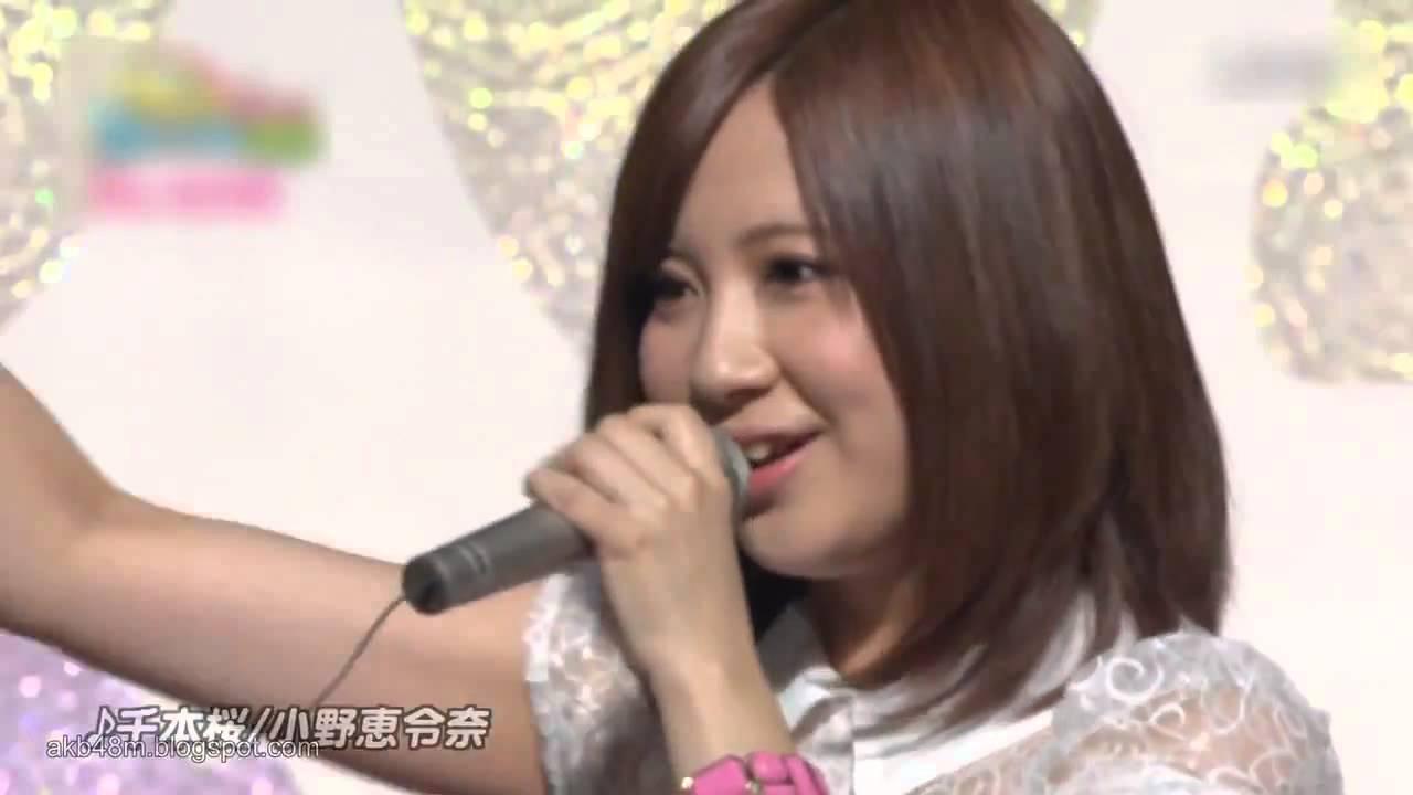 【放送事故】 小野恵令奈 - 千本桜 客のノリが悪すぎて歌の途中でキレる Ono Erena Senbonzakura - YouTube