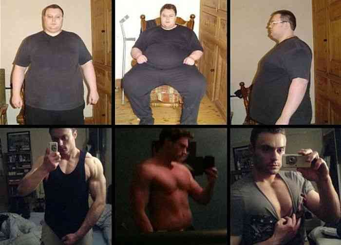 122kgの女性が54kgまで痩せた結果…!