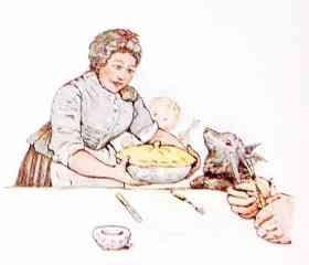 人間にパイにされた「ピーターラビットのお父さん」を食べられるカフェ登場ww
