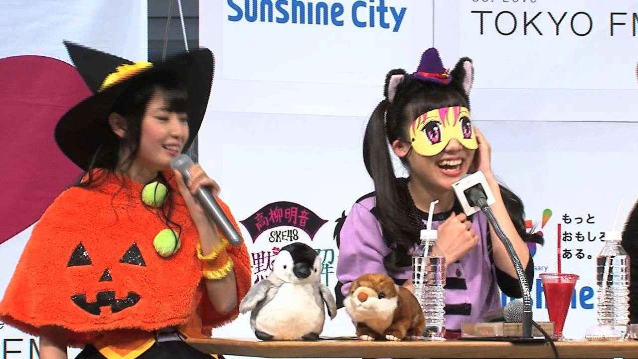 高柳明音ラジオの公開収録で松村香織にタジタジ!?その1 - YouTube
