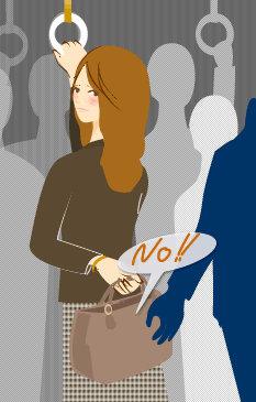 電車内で少女の尻を触りブラを外そうとした巡査長減給 処罰意思なしと立件見送る