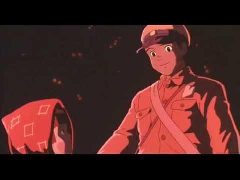 エンドロール 【アニメ】 火垂るの墓 - YouTube