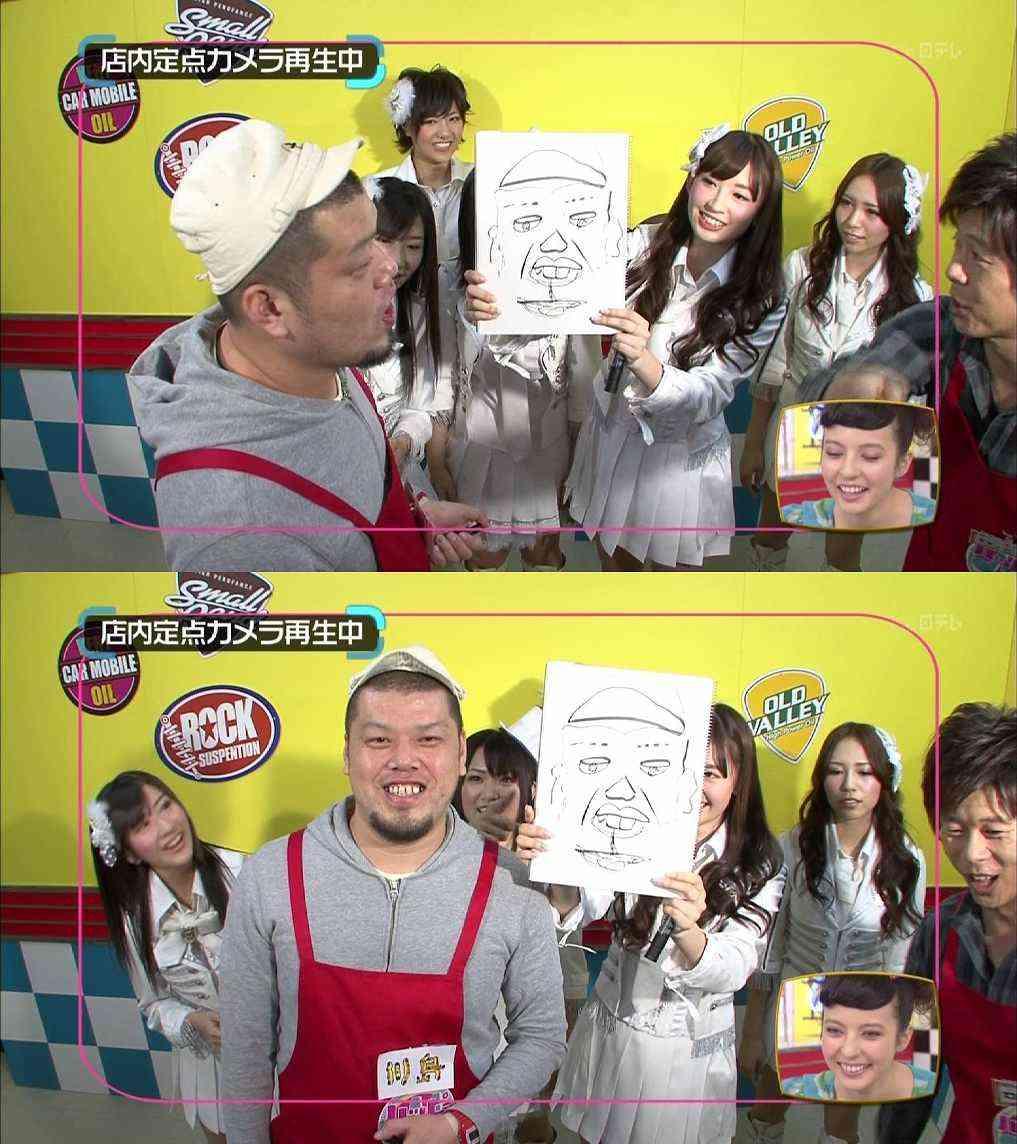 AKB48小嶋陽菜が描いた大島優子の似顔絵に悪意を感じるwww